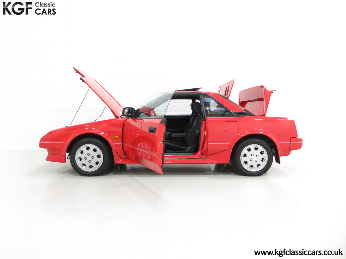 1990 An Immaculate Mk1b Toyota MR2 W10, Wife and Husband Owned SOLD (picture 3 of 6)