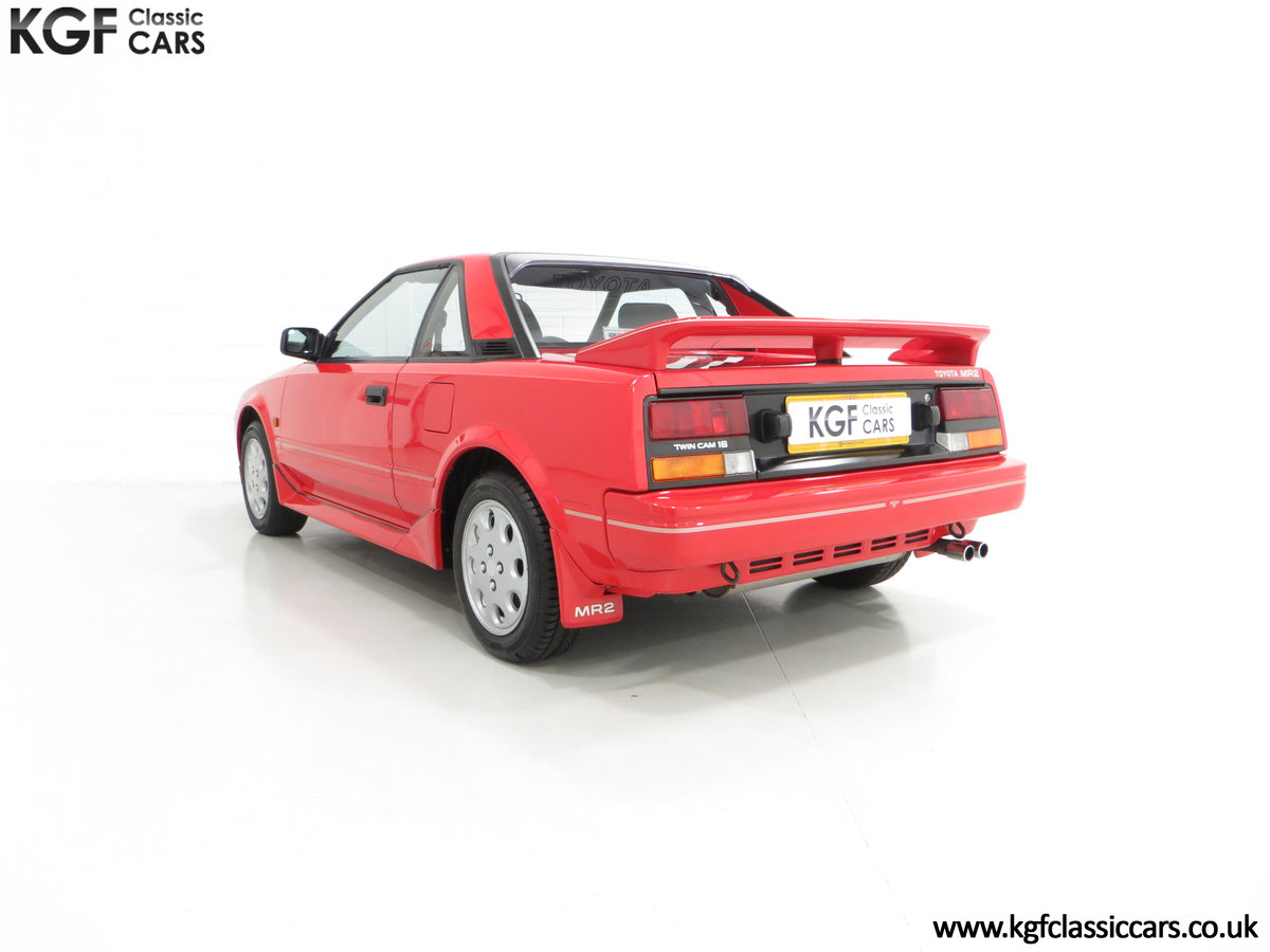 1990 An Immaculate Mk1b Toyota MR2 W10, Wife and Husband Owned SOLD (picture 4 of 6)