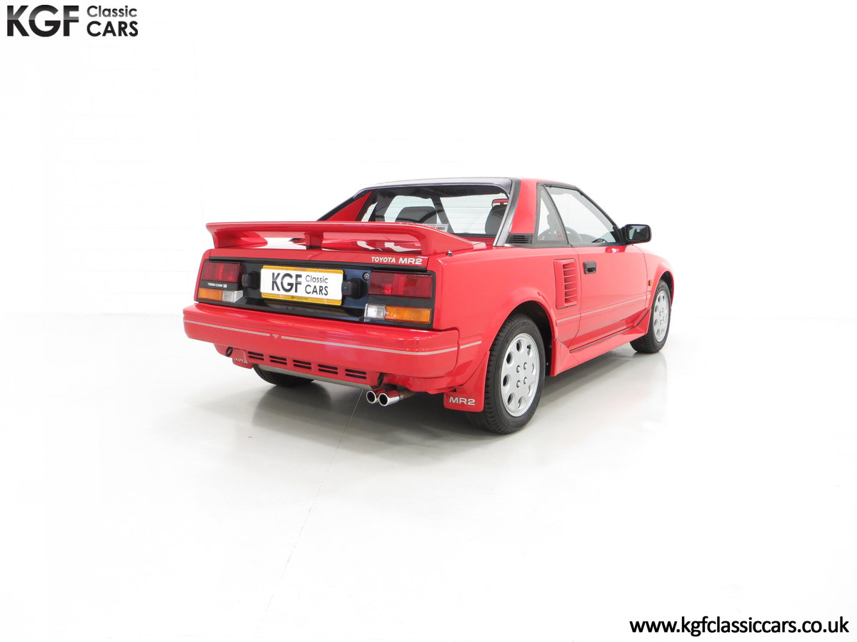 1990 An Immaculate Mk1b Toyota MR2 W10, Wife and Husband Owned SOLD (picture 5 of 6)