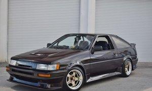 1987 Toyota Corolla AE 86 LEVIN Fresh Engine Rebuild RHD For Sale