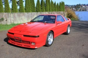 1989 Toyota Supra Clean Red Manual 5 Speed LHD $19.9k