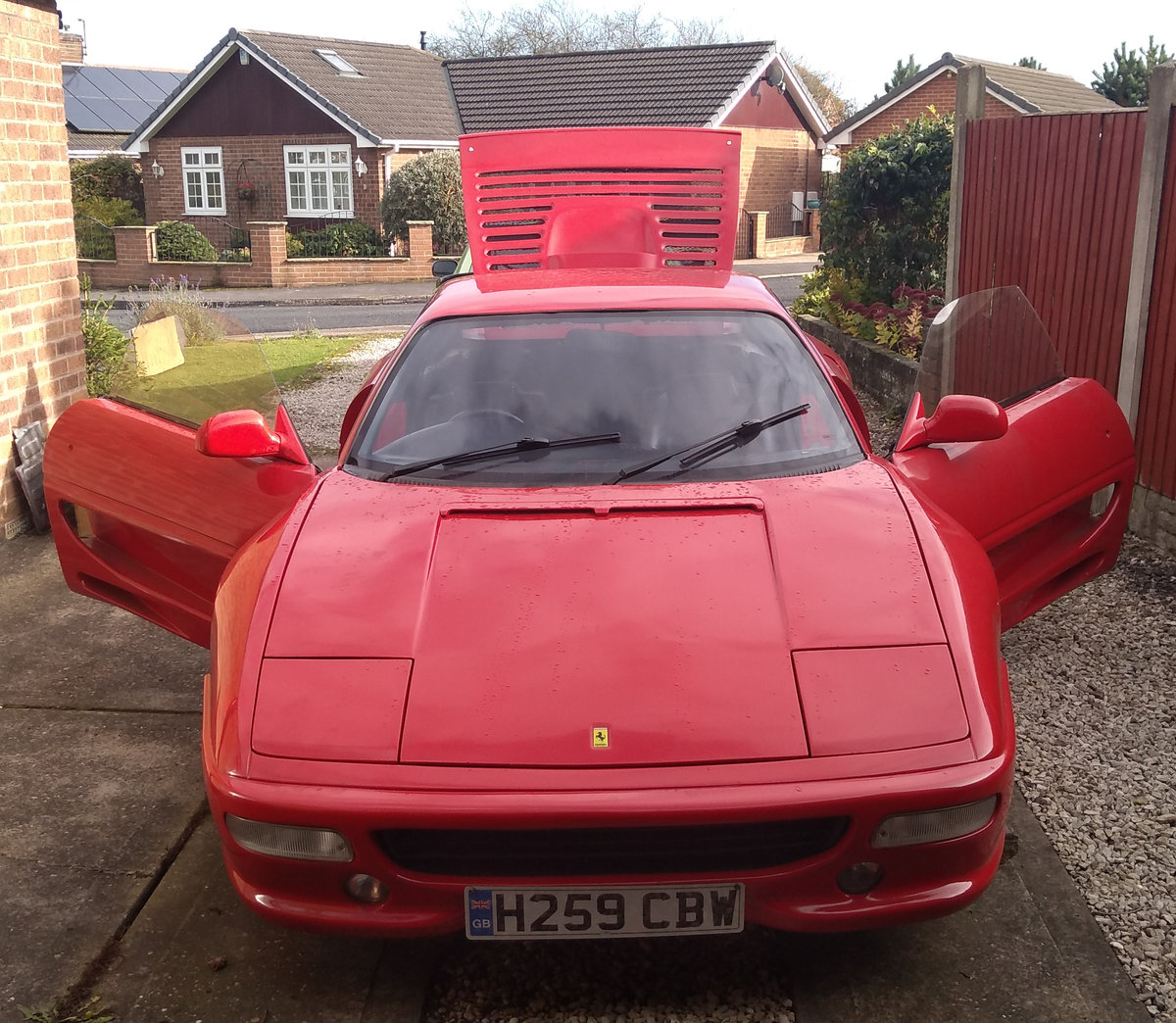 1990 Toyota Mr2 Ferrari 355 Kit Car Project Sold Car And Classic