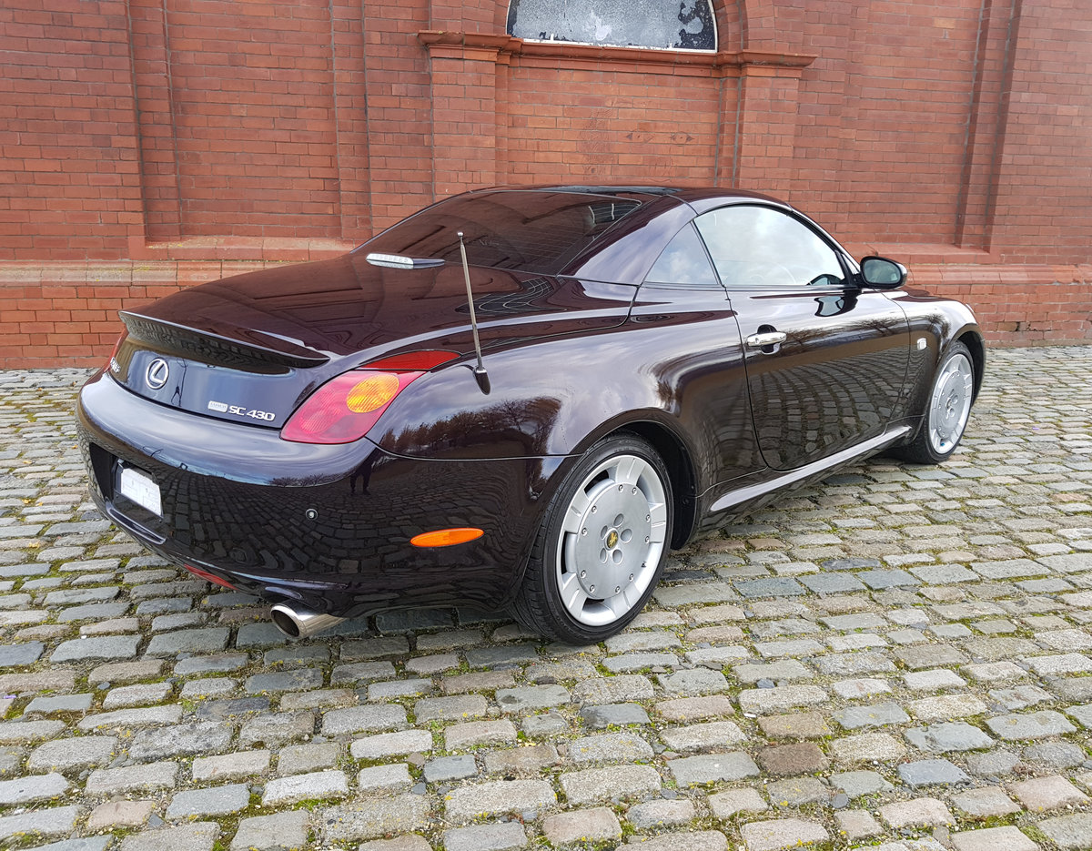 TOYOTA SOARER 2002 LEXUS SC 430 COUPE CONVERTIBLE * V8 *  For Sale (picture 2 of 6)