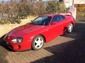 1994 Toyota Supra Twin Turbo 49,000 miles £12,000 - £15,000