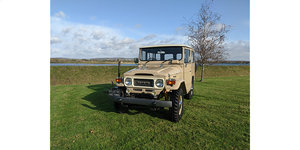 RHD 1980 Japanese factory Toyota FJ40 Land cruiser For Sale
