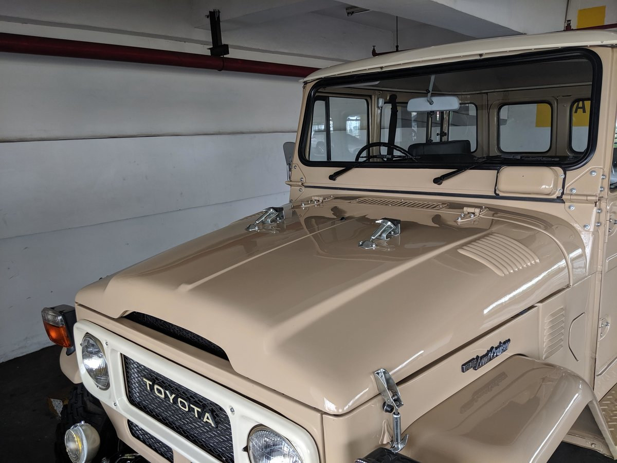 RHD 1980 Japanese factory Toyota FJ40 Land cruiser For Sale (picture 3 of 6)