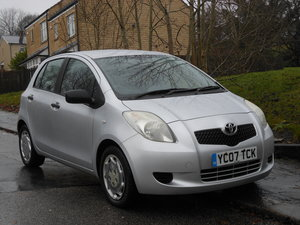 2007 Toyota Yaris 1.0 VVT-i T2 5DR 66,000MLS + 12 Month Mot SOLD