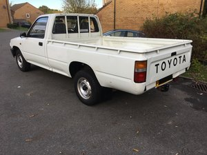 1996 Toyota Hilux Pickup Original 2 Wheel Drve