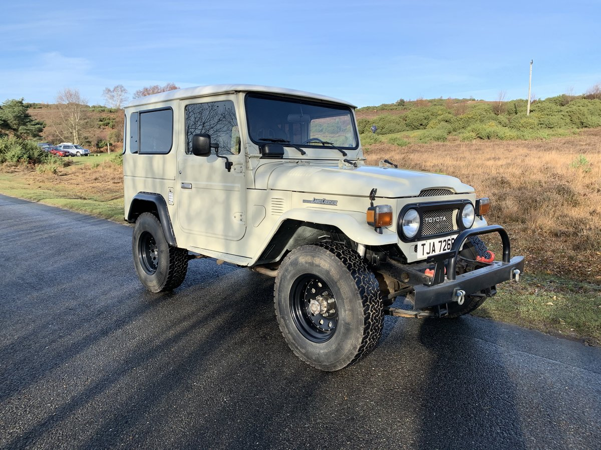 Toyota Land Cruiser BJ40 1977 Immaculate And Cool! For Sale (picture 1 of 6)