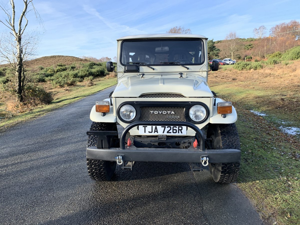 Toyota Land Cruiser BJ40 1977 Immaculate And Cool! For Sale (picture 5 of 6)