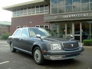 1997 Toyota Century V12 For Sale by Auction