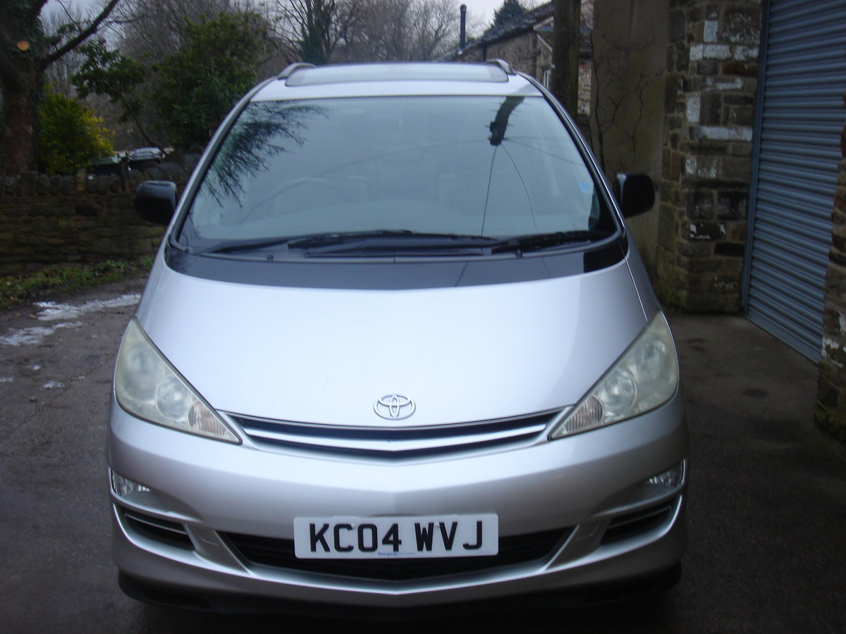 2004 04 TOYOTA PREVIA 2.0 D-4D T SPIRIT. 7 SEATS. LEATHER. For Sale (picture 3 of 6)