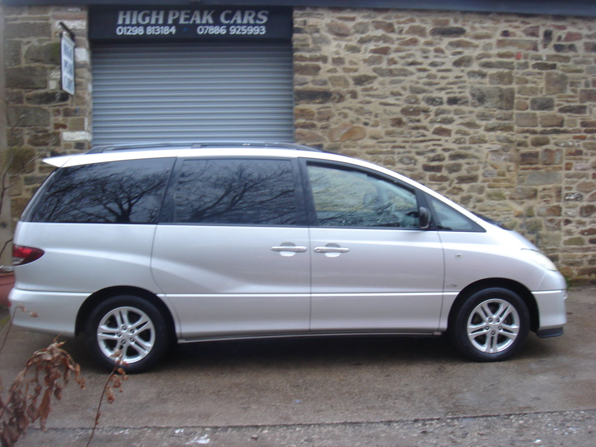 2004 04 TOYOTA PREVIA 2.0 D-4D T SPIRIT. 7 SEATS. LEATHER. For Sale (picture 5 of 6)