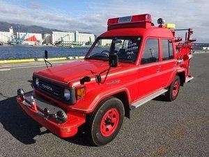 1994 Toyota Landcruiser HJZ75 4.2 D 1HZ Fire Truck For Sale