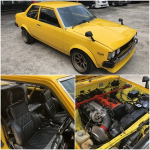 1982 Toyota Corolla KE70 2 Door For Sale