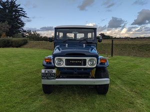 1981 RHD Japanese factory Toyota FJ40 Land cruiser 2F petrol SOLD