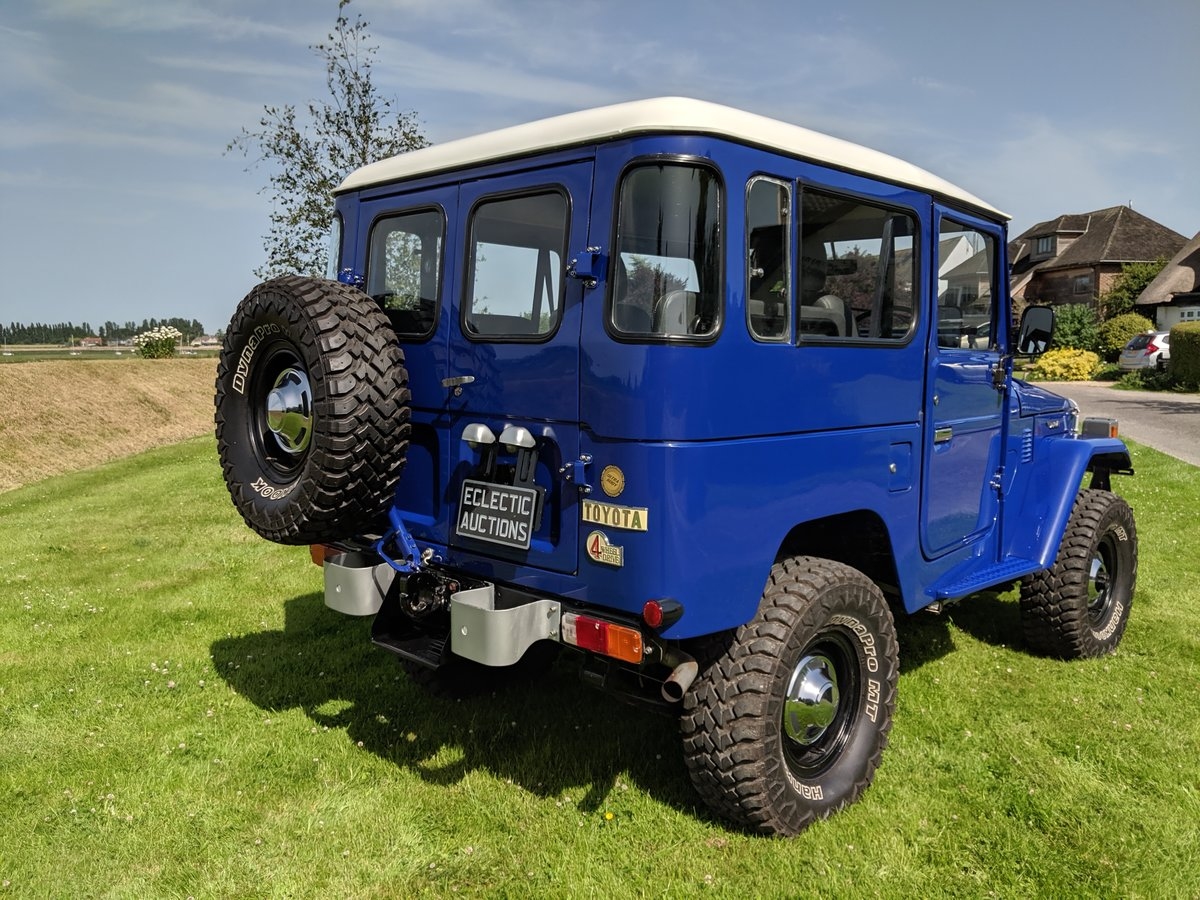 RHD 1981 Japanese factory Toyota FJ40 Landcruiser petrol 2F For Sale (picture 4 of 6)