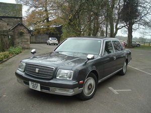 1997/P Toyota Century V12. Rinpo Grey/Lambswool. FSH. For Sale