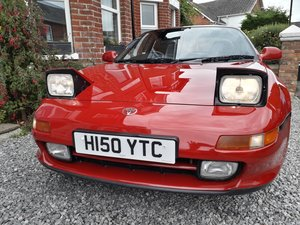 1990 Toyota MR2 Low miles, long MOT,excellent condition