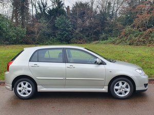 2006 Toyota Corolla VVT-i.. Colour Collection.. Low Miles.. FSH SOLD