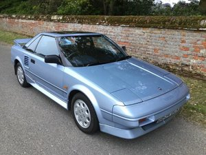 1989 Toyota MR2 at ACA 25th January 2020