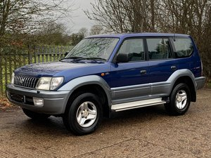 2003 Toyota Landcruiser Colorado D4-D 7 Seats FSH LOW MILEAGE For Sale