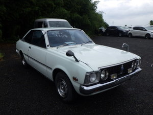 JDM TOYOTA CORONA 2000 SL COUPE 1975 – RARE JDM CAR ONLY BUI