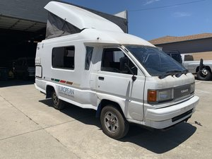 1993 Toyota TownAce Camper Van Pop-Up Ivory Driver $18k For Sale