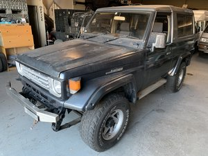 1992 Toyota Land Cruiser Series 70 Diesel RHD Grey $17k For Sale