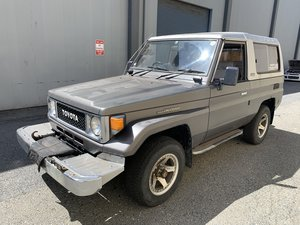 1988 Toyota Land Cruiser Series 70 Diesel RHD 3 Doors Grey(~ For Sale