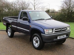 1997 Toyota Hilux 2.4 TD 4WD NO RESERVE at ACA 25th January