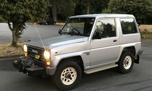 1987 Toyota Blizzard 4×4 diesel 2.4 diesel 5-speed RHD $9. For Sale
