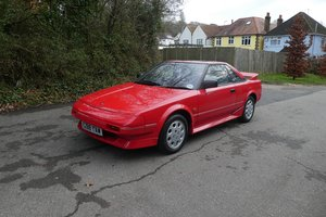 Toyota MR2 MK1 1988 - To be auctioned 31-01-2020 For Sale by Auction