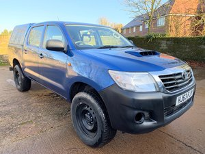 2013/63 Toyota Hilux HL2 D-4D doublecab with truckman top SOLD