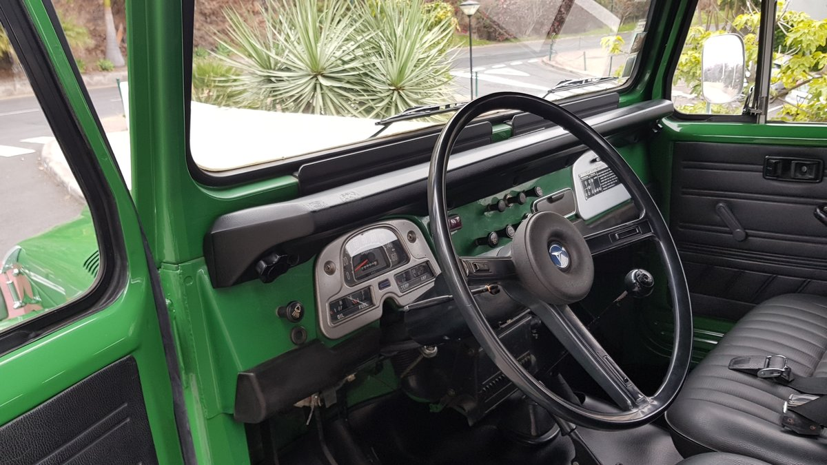 1980 Land Cruiser BJ40  68000 Kms (42500 Mls)  7 Seats  For Sale (picture 5 of 6)