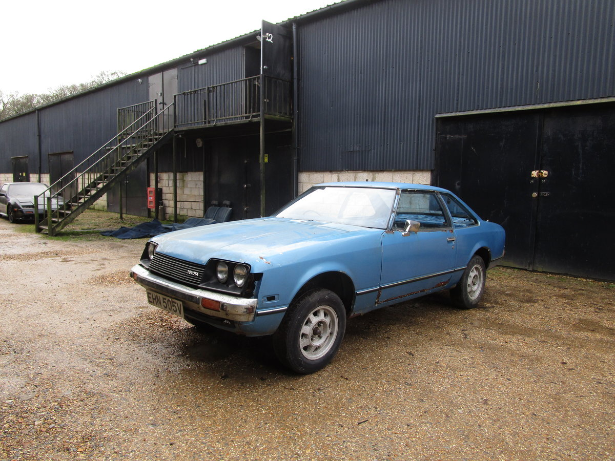 1979 Toyota Celica 1600 ST RHD For Restoration TA40 For Sale (picture 1 of 6)