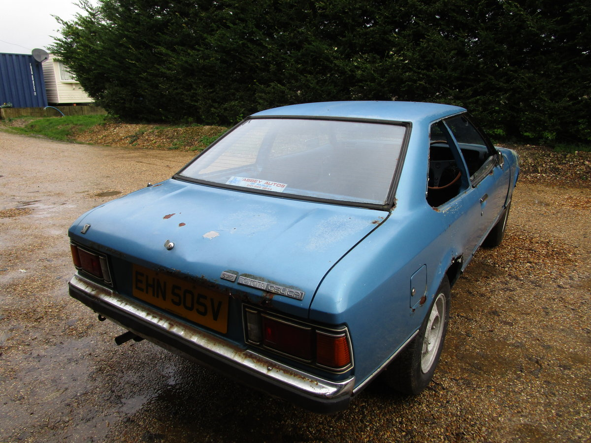 1979 Toyota Celica 1600 ST RHD For Restoration TA40 For Sale (picture 3 of 6)