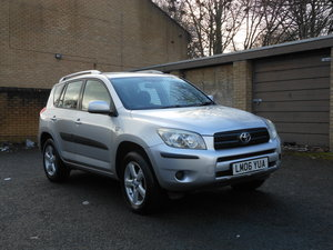 2006 Toyota Rav-4 2.2 D4-D XT3 5DR 4WD New Shape + FSH SOLD
