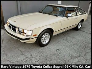 1979 Toyota Celica SUPRA clean Ivory Auto Solid Dry $6.9k