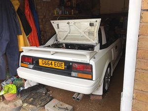 1989 TOYOTA MR2 MK1 T-BAR BARN FIND  For Sale