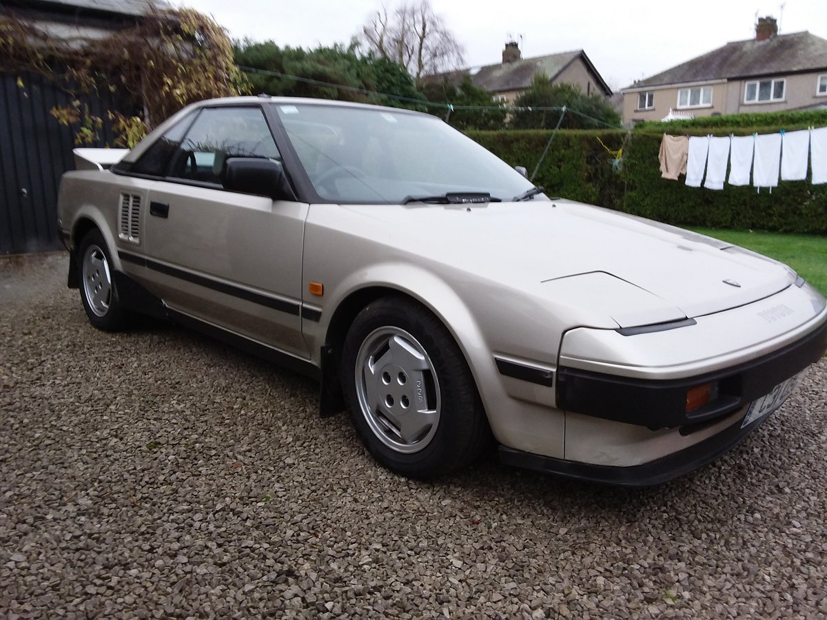 1985 Toyota MR2 Mk1 SOLD (picture 1 of 6)