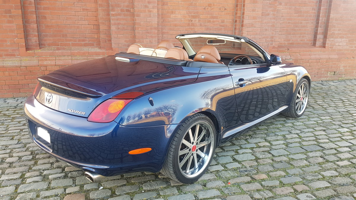 2001  SOARER / LEXUS SC 430 COUPE CONVERTIBLE * V8 * RARE COLOUR  For Sale (picture 2 of 6)