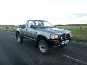 1995 Toyota Hilux Mk3, genuine mileage, recently restor