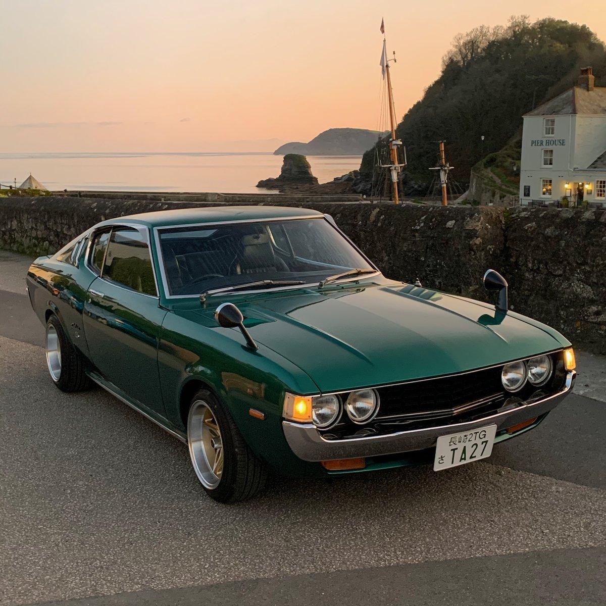1974 Toyota Celica Liftback 2TG TA27 JDM RA25 TA22 For
