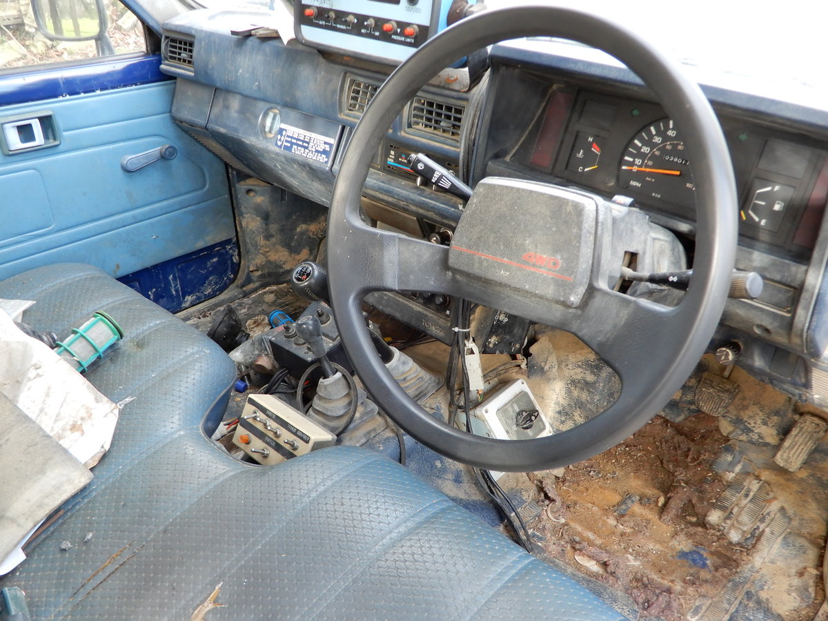 1985 Toyota Hilux Mk2 Low Mileage For Sale (picture 5 of 6)