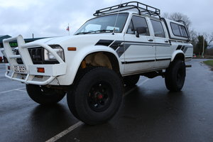 Picture of 1982 Toyota HiLux ln46 Doublecab pickup turbo diesel Taxex (soon) For Sale