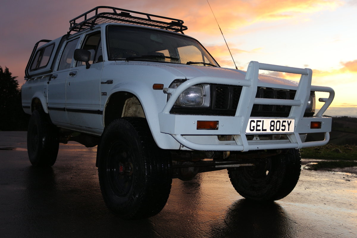 1982 Toyota HiLux ln46 Doublecab pickup turbo diesel Taxex (soon) For Sale (picture 6 of 6)