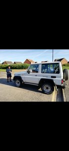 1991 Toyota Landcruiser LJ70  Jeep For Sale