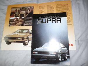 Toyota Supra Classic Original Brochure