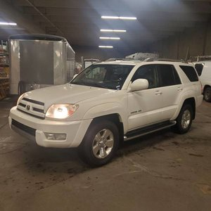 2004 Toyota 4Runner Limited SUV 4WD Ivory(~)Tan $7.9k